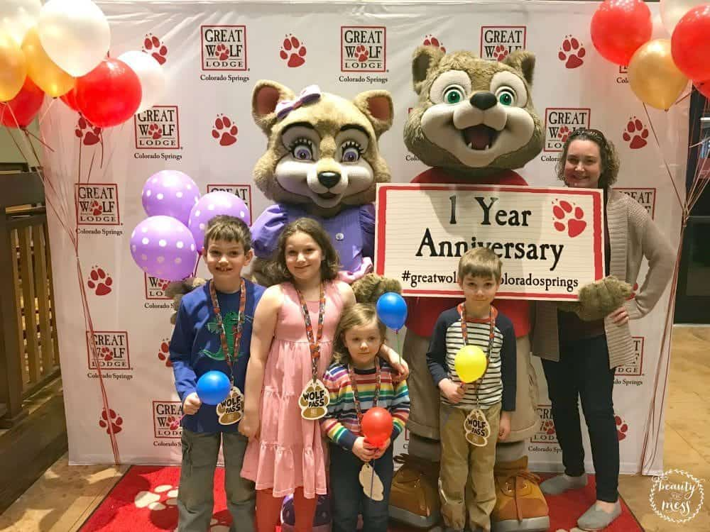 Great Wolf Lodge Colorado Springs 1 Year Anniversary