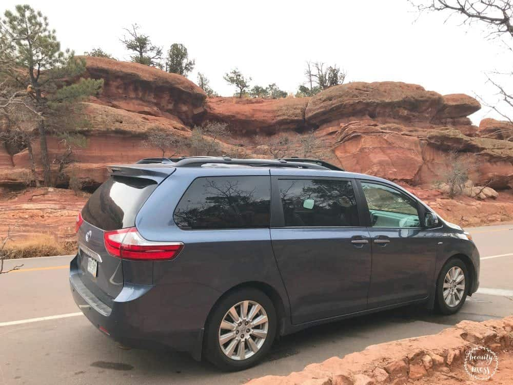 Toyota Sienna 2017 Garden of the Gods