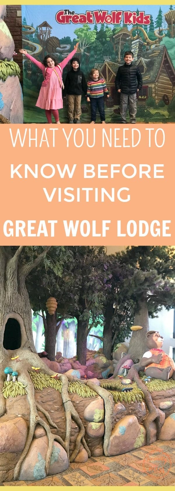 Whether you are wanting a family getaway so you can spend intentional time with your family or a family vacation, consider #greatwolflodge . The #waterpark and fun activities for the kids are included in your stay while there are plenty of add-on attractions that the whole family will enjoy. #familytravel