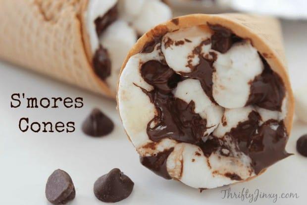 S'mores Cone Dessert