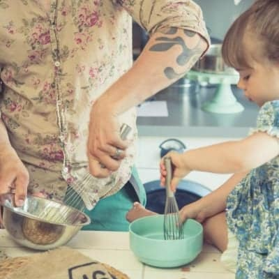 Cooking in the Kitchen with Toddlers