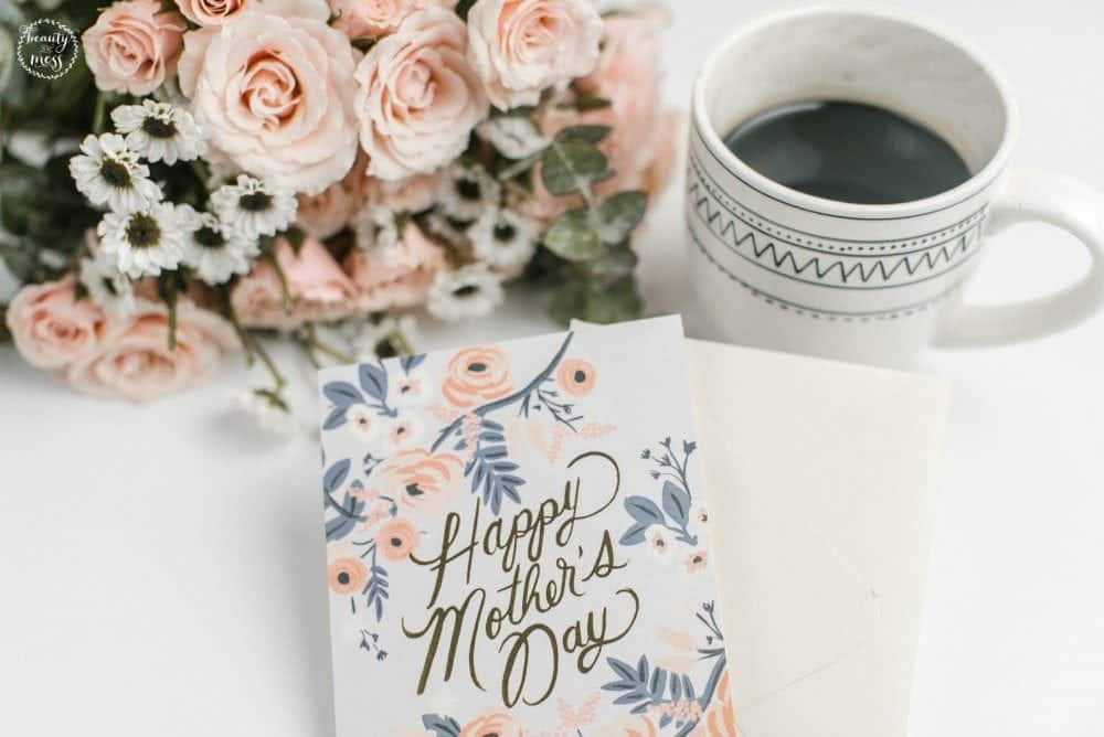Happy Mother's Day card for mom