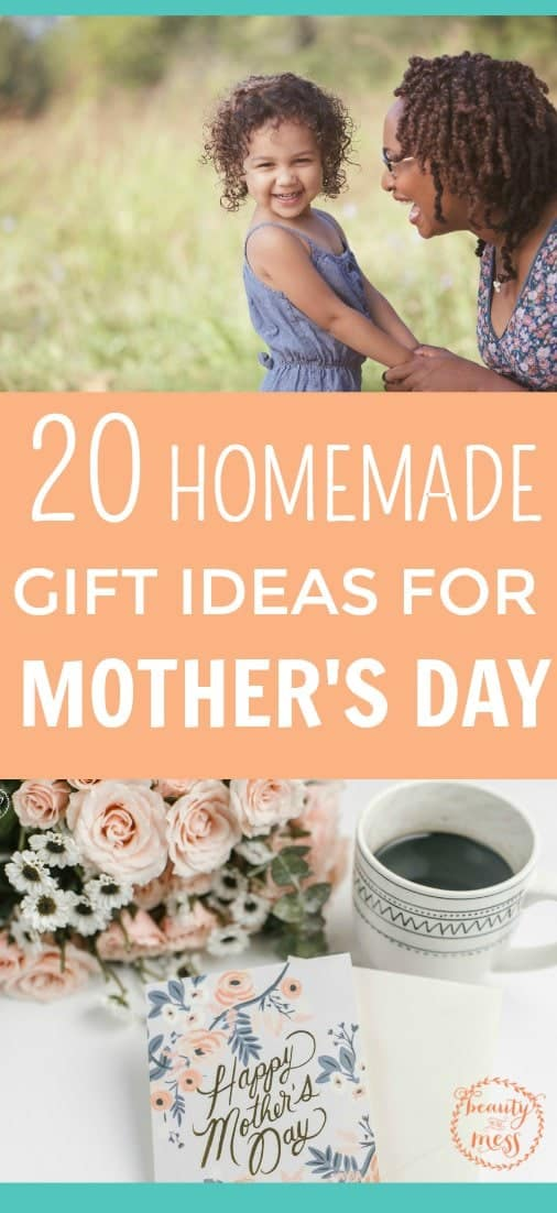 If you are looking for Mother's Day gift ideas, don't miss these 20 Creative #Handmade Mother's Day #GiftIdeas . From #bathsalts to #crocheted #markettotes , there is something for everyone. #DIY #photocoasters #mercuryglass #oatmealmilkbath #lavender #lemonsugarscrub #soap via @simplifyingfamily