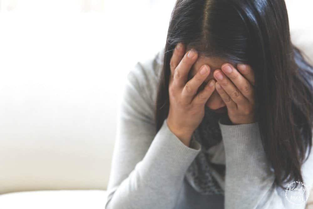 Mom Guilt Overwhelmed Mom