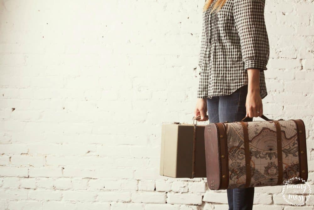 Mom guilt traveling without kids