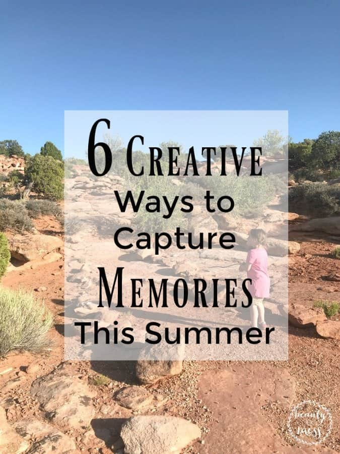 6 Ways to Capture Memories This Summer. From photo books to travel journals, we've got you covered with ideas to remember your Summer adventures for years to come. #familytravel #summeradventure