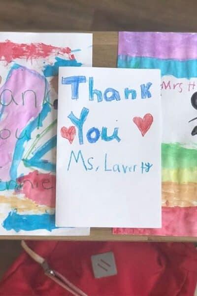 Thank You Teachers Crayola