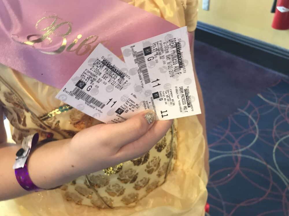 Dream Big Princess AMC Theaters Tickets