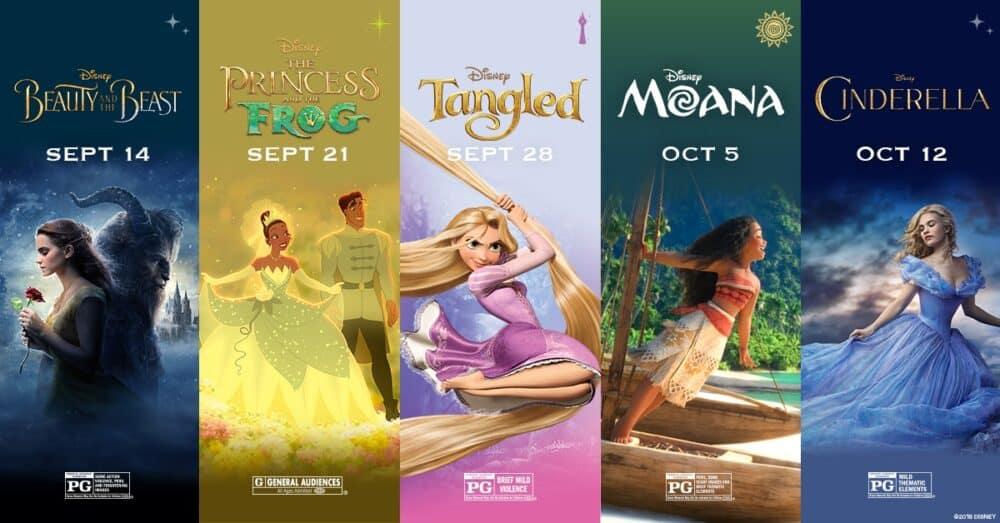 AMC Movie Theater Dream Big Princess