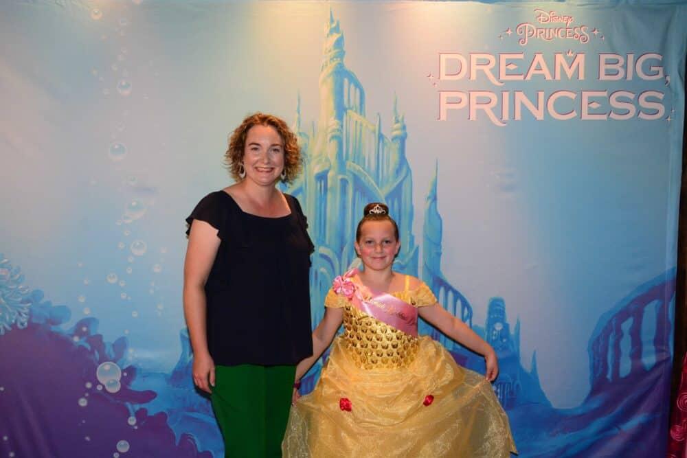 Dream Big Princess Mom and Daughter