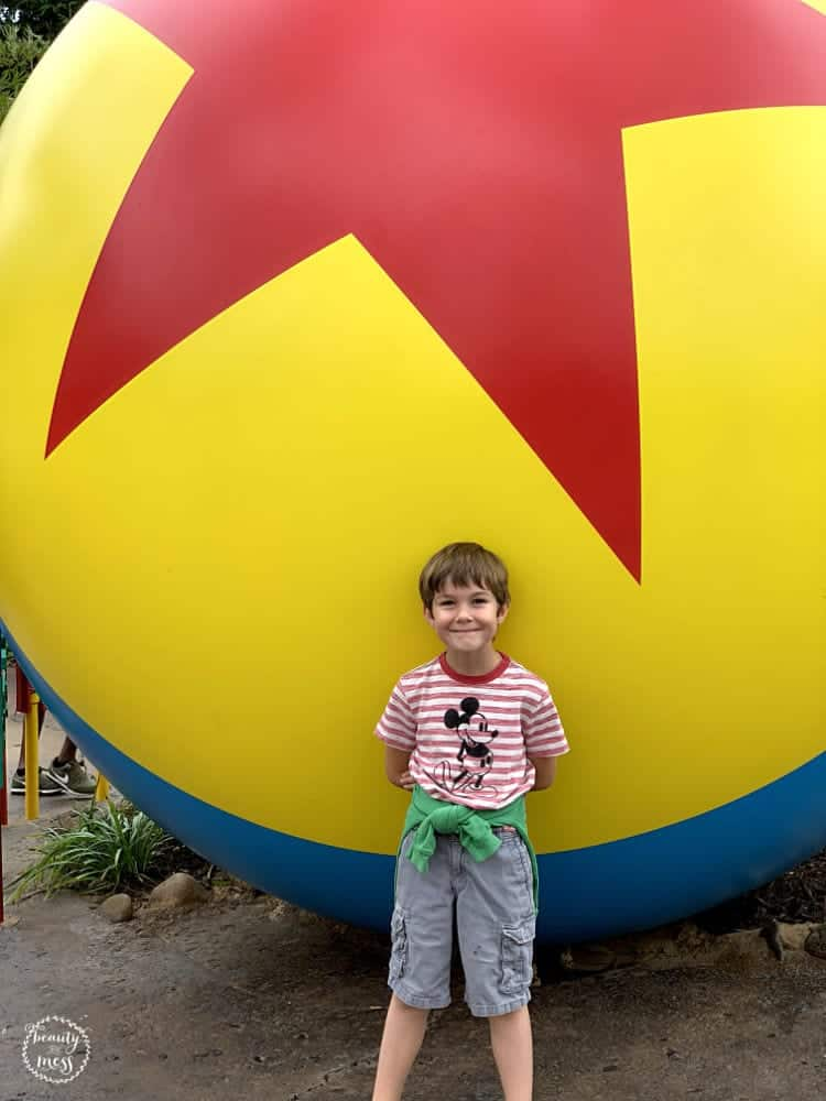 Pixar Ball Photo Spot Toy Story Land