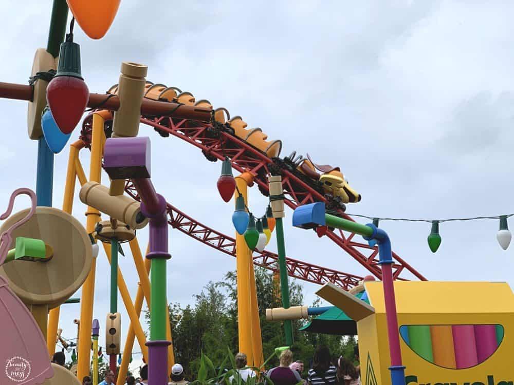 Slinky Dog Dash Toy Story Land Near Crayola Box