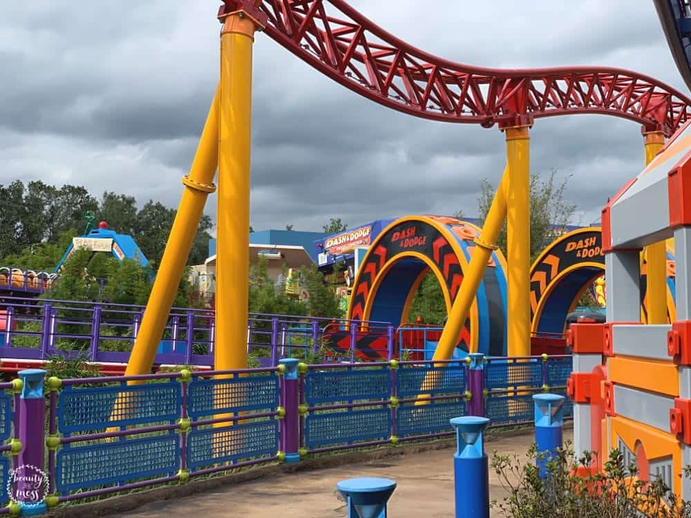 Slinky Dog Dash Toy Story Land