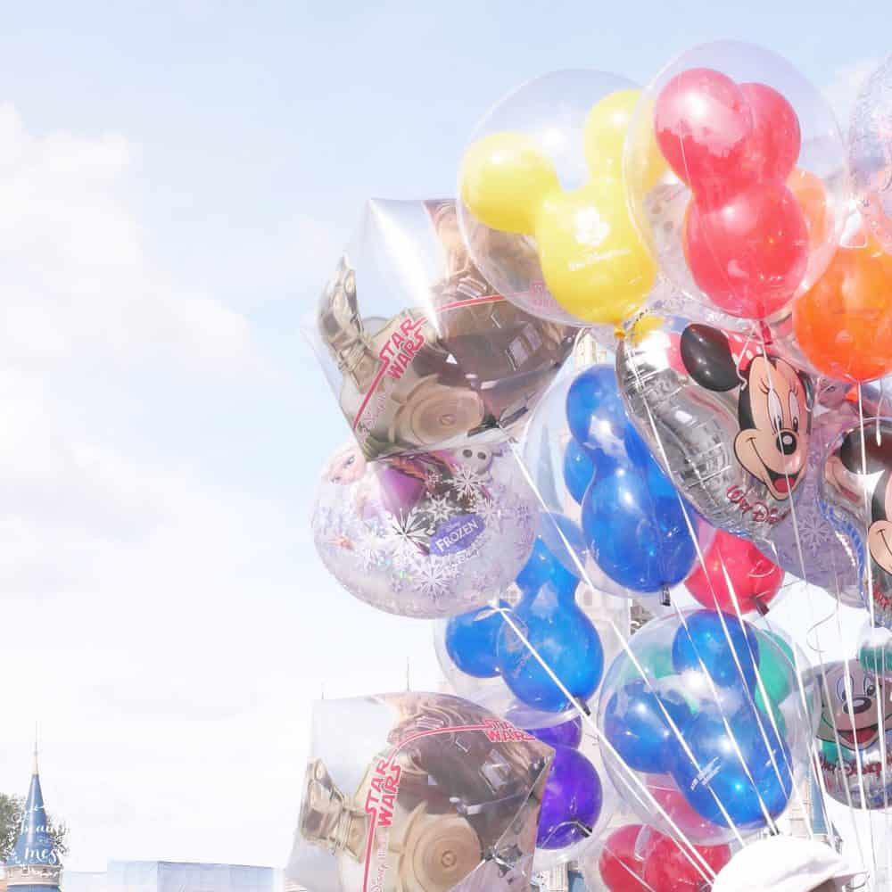 Walt Disney World Balloons