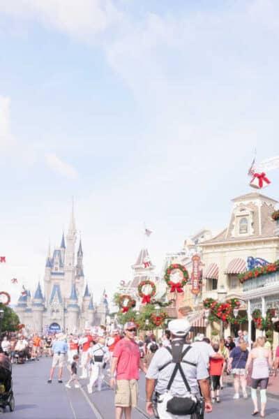 Magic Kingdom Main Street Christmas