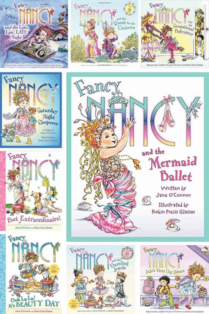 20 Fancy Nancy Books For The Fanciest Kid You Know