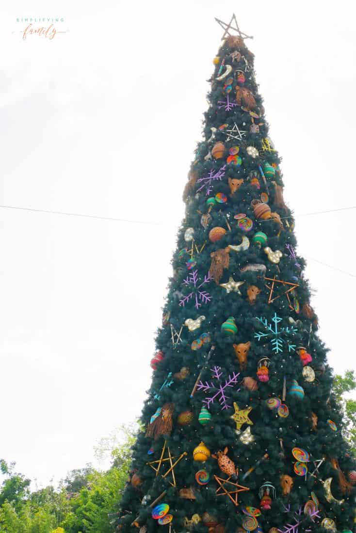 Celebrate Holidays at Disney's Animal Kingdom Christmas Tree