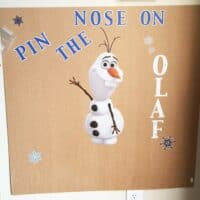 How to Make a Pin the Nose on Olaf Game
