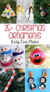 28 Easy and Fun Christmas Ornaments Kids Can Make