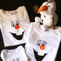 Disney Frozen Craft: DIY Olaf Shirt