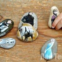 Frozen Story Stones