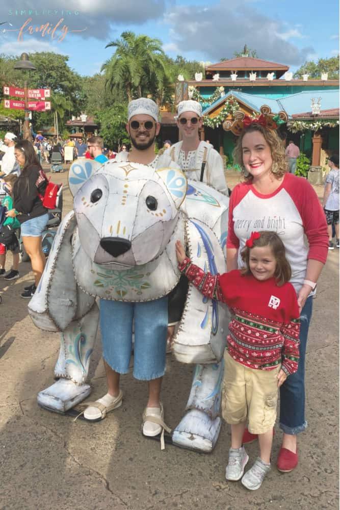 Celebrate Holidays at Disney's Animal Kingdom on Discovery Island