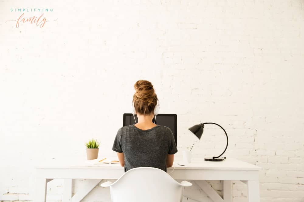 destress during the workday by listening to music