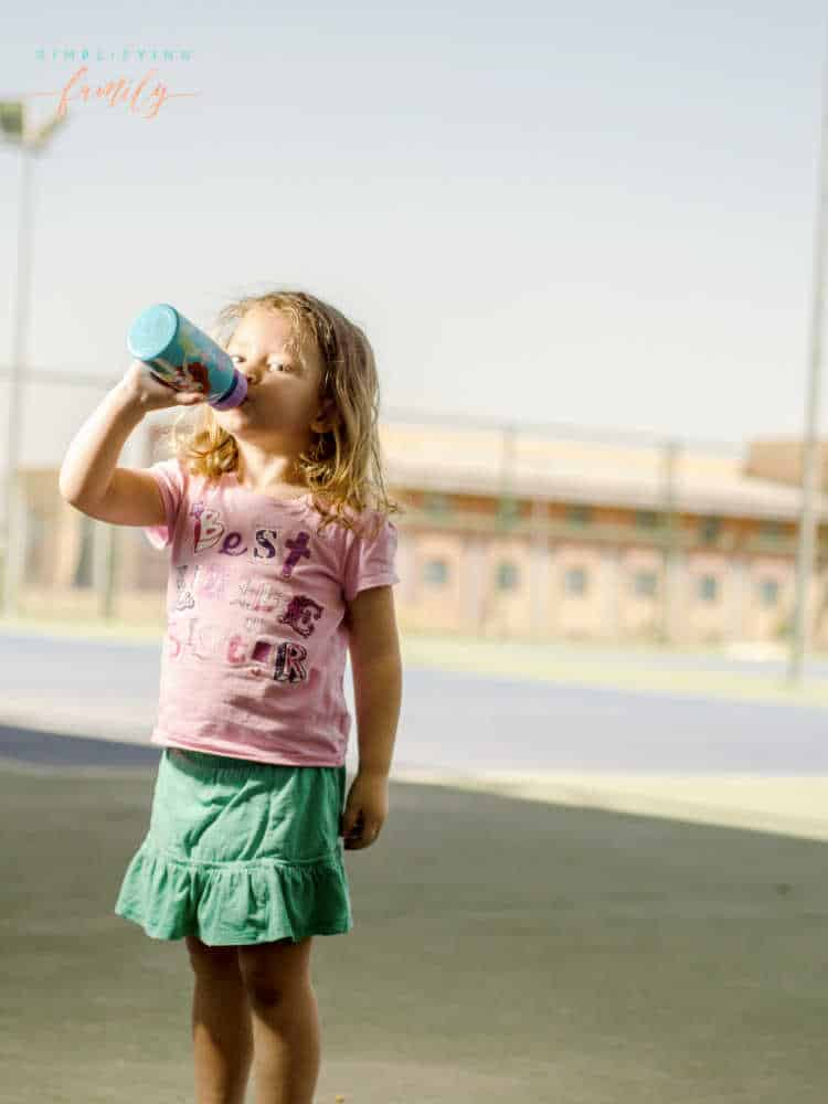 Summer safety tips drink water