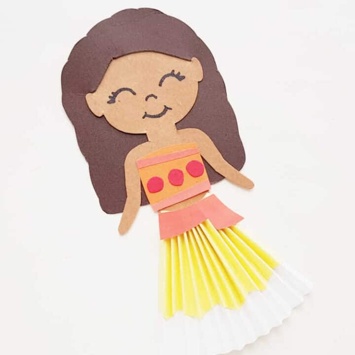 Moana Paper Doll Craft