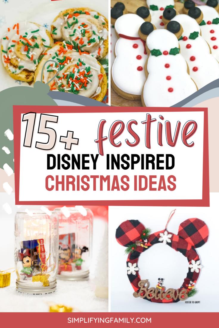 Disney Inspired Christmas Ideas