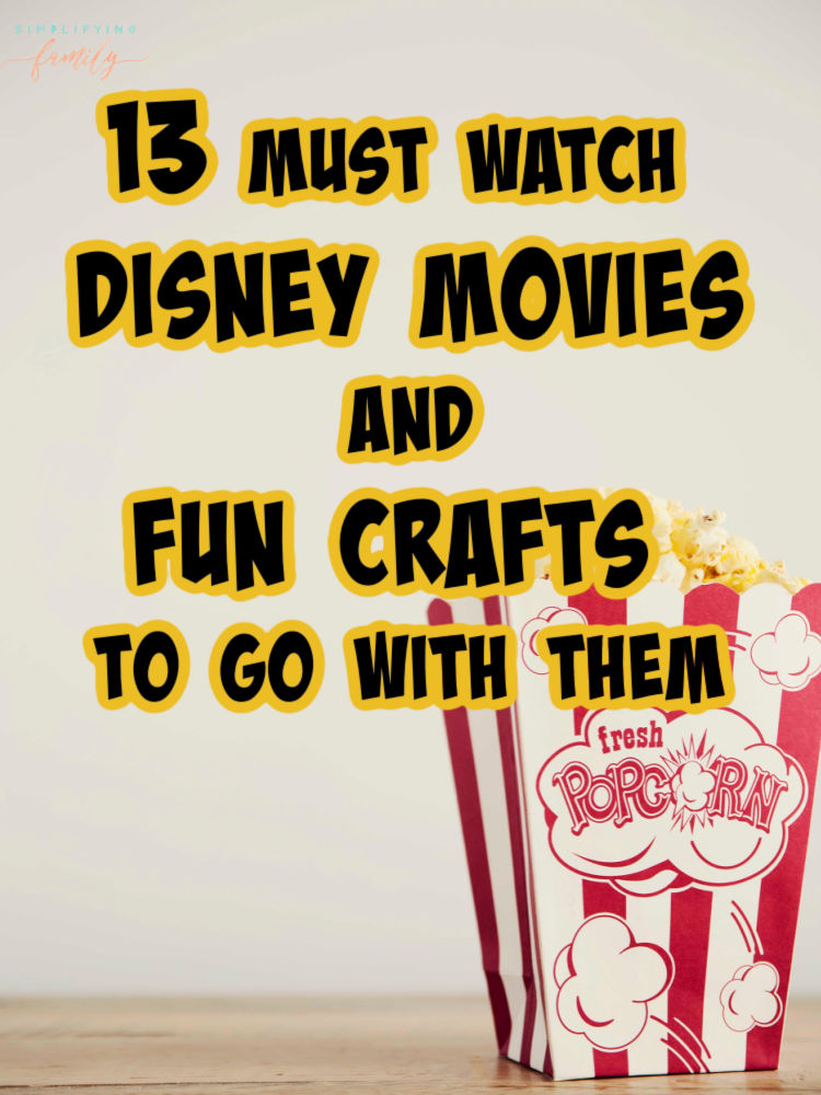 Disney Movies to watch this weekend