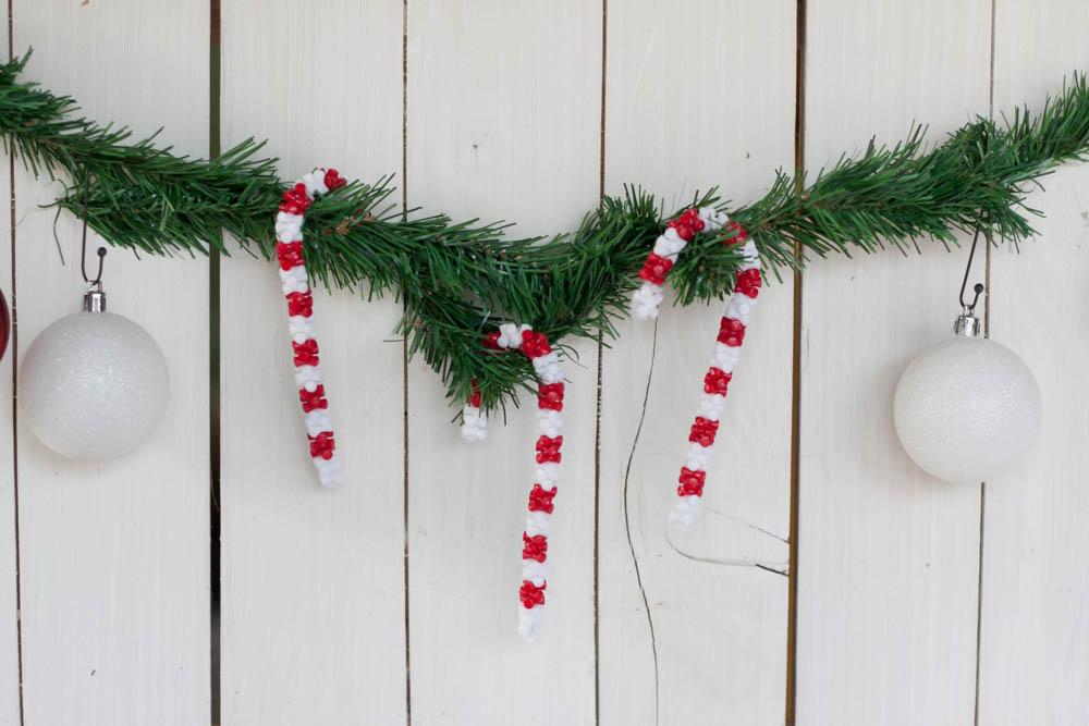 Candy Cane Christmas Craft
