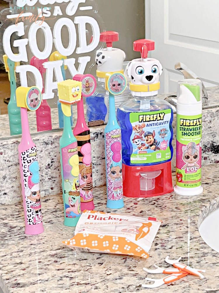 Dr Grace Yum Firefly Toothbrushes