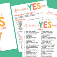 Yes Day Rules and Suggestions