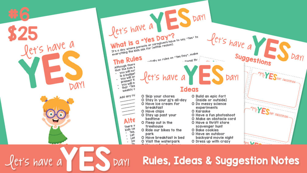 Yes Day Ideas