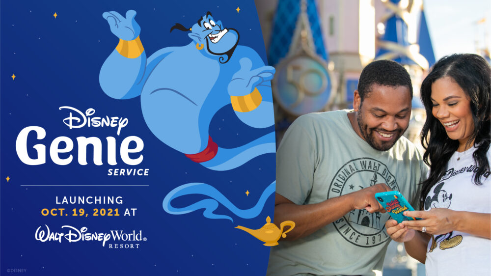 Disney Genie Launches October 19th