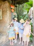 Four Children exploring Gorilla Falls Exploration Trail, Presented by OFF!®Repellents at Disney's Animal Kingdom
